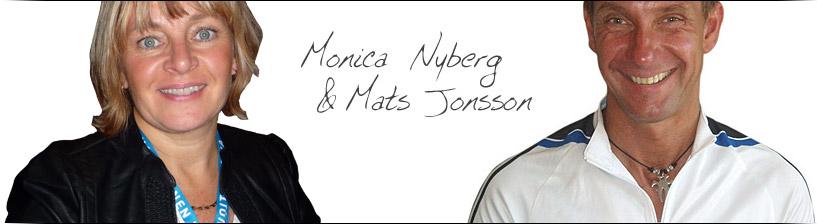 Monica Nyberg och Mats Jonsson på Vera Sport